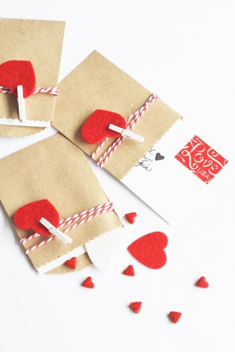 DIY mini valentine notes