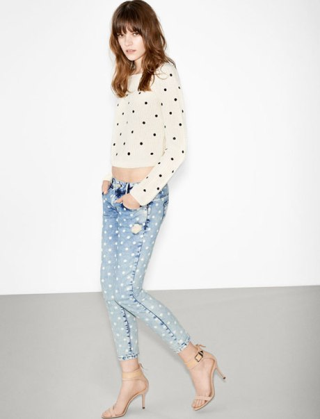 Zara-lookbook-feb-2013-polkadot-jeans